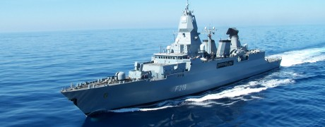 F219 auf See